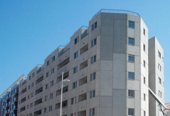 Construcción de 60 viviendas en Gandía, Valencia